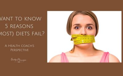 Want to know 5 reasons why (most) diets fail?